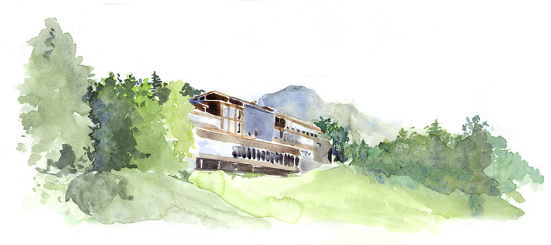 Wall Street Journal, Lanser hof, Summer, Spa, hotel, Austria, luxury Spa, travel, relax, illustration, water colour, silja götz, silja goetz, silja gotzWall Street Journal, Lanser hof, winter, snow, schnee, alpen, Spa, hotel, Austria, luxury Spa, travel, relax, illustration, water colour, silja götz, silja goetz, silja gotz, aquarell, acuarela, water colour, wall street journal, stoney clove bakery, american bakery, paris, twinkies, cherry pie, cookie, chocolate chip cookie, facade, bäckerei, konditorei, amerikanisch, paris,  Living, style, silja götz, silja goetz, ilustración, dibujo